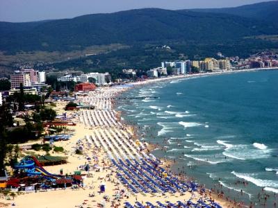 Море - Слънчев Бряг, плаж
